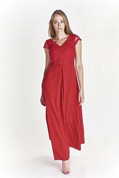8dcab135d7b Červené společenské šaty s rozparkem Bosca Fashion Amma. 36  42. 2 390 Kč 2  290 Kč. -4% Společenské malinové s krajkou Vegas Corina