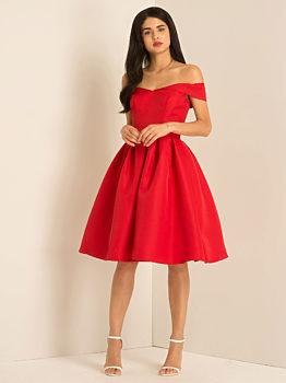 Společenské šaty Chi Chi London Jadei červené 2868e79d82