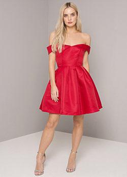 -5% Společenské šaty Chi Chi London Jadei kratší sukně 85895e5777