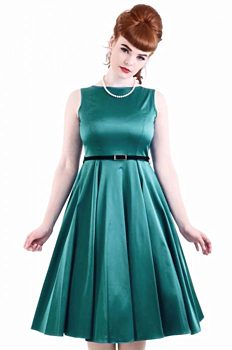 ea66891762e Tyrkysové společenské šaty Lady V London Audrey