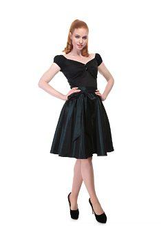 8e28e45cee7 Společenská zelená sukně Collectif Aida