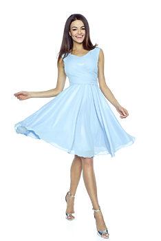 2abd99be6ef modré Šaty na dovolenou Šaty na dovolenou