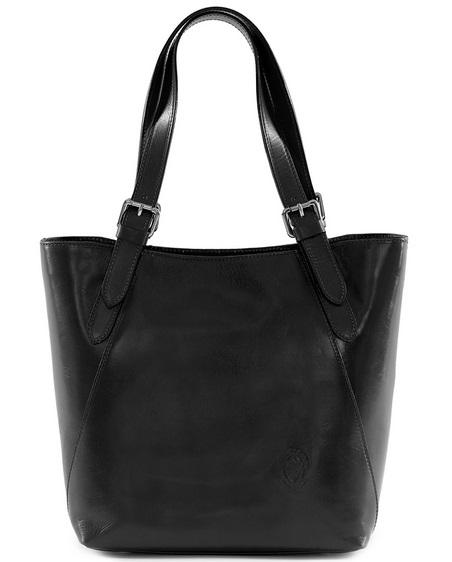 94f72edb169 Kožená kabelka Farini černá Blanka Straka